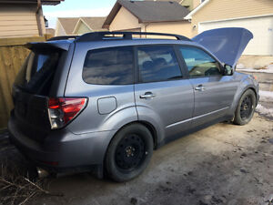 2010 Subaru Forester 2.5L turbo project w/replacement STI engine