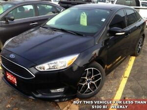 2015 Ford Focus SE  AUTO/AC/ALLOYS/TINTS/LOW KMS