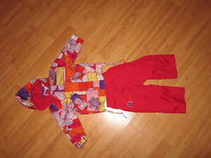 12 month girl spring suit