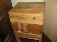 Antique General store butchers block 350.00 obo