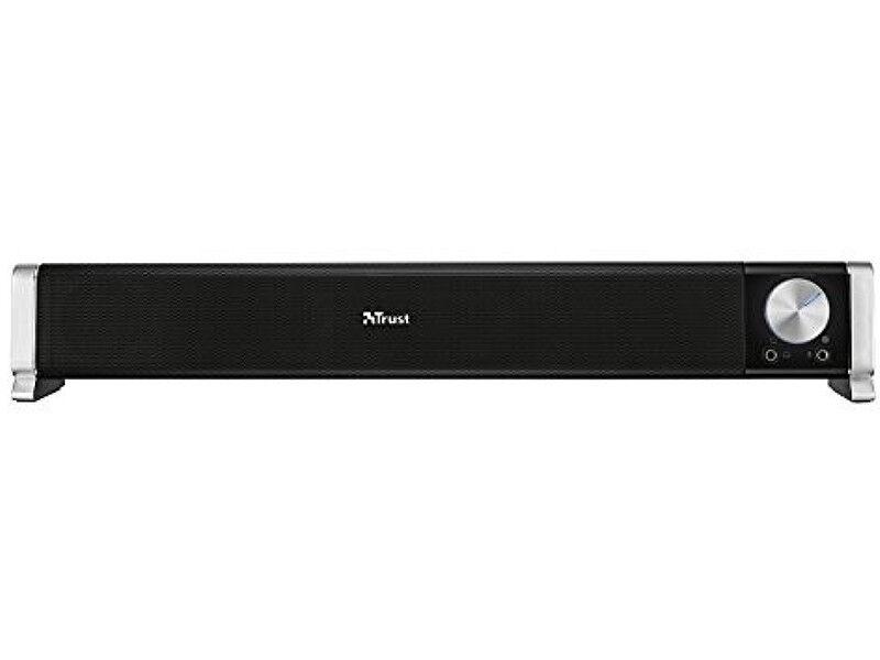 Trust Asto Altoparlante Standard per PC da 12 W, Alimentazione USB, Nero.