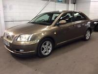 2004 TOYOTA AVENSIS 2.0 D-4D T3-X..ONE OWNER..FULL HISTORY..LOOKS+DRIVES GOOD