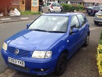 VW Polo spares of repair