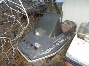 1980 Arctic Cat Pantera Body - No Engine - For Parts