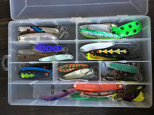 Fishing Lures- over 200 like new mint condition!