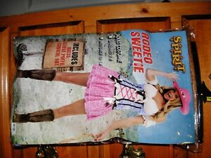 LADIES COWGIRL COSTUME FOR SALE!