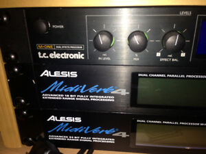 Alesis midiverb 4 digital effects processor