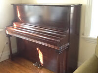 Full upright piano