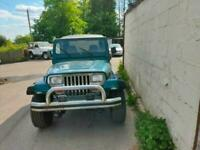 1995 Jeep Wrangler 2.5 Soft top or Hard top 3dr Auto Four Wheel Drive Petrol Aut