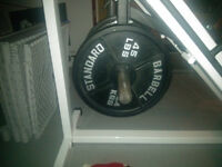 90lbs Olympic weights