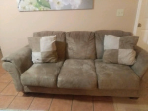 Microfiber Couch - Delivery Available