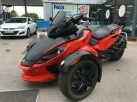 2013 Can-Am Spyder Trike RSS 990 cc 5 speed manual