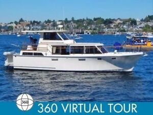 42' yacht liveaboard. to trade for holiday type trailer.
