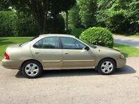 2003 Nisan Sentra automatic cold A/C