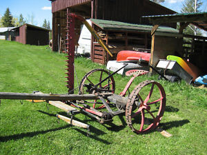 horse drawn mower
