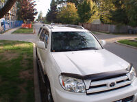 2003 Toyota 4Runner Limited SUV- get ready for winter