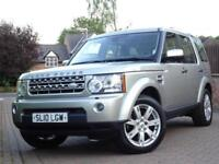 2010 Land Rover Discovery 4 3.0TDV6 242bhp Auto XS..1 OWNER..PAN ROOF..7 SEATS