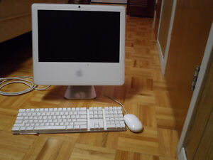 """iMac """"Core 2 Duo"""" 2.0 17""""- 2.0 GHz Intel BUIL-IN CAMERA"""