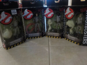 CLASSIC GHOSTBUSTERS FIGURINES *SET OF  4* BY MATTEL