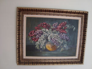 floral oil painting #2