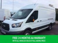 2017 17 FORD TRANSIT JUMBO / L4H3 130 TDCI 6 SPEED EURO 6 WITH SIDE LOADING DOOR
