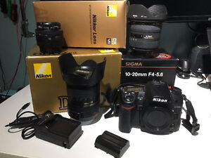 Nikon D7000 Body/Lens Package - Low shutter count
