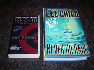 LEE CHILD BOOKS AND CLIVE CUSSLER