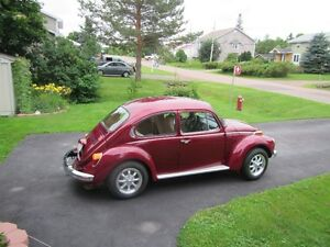 Restored 1973 Beetle