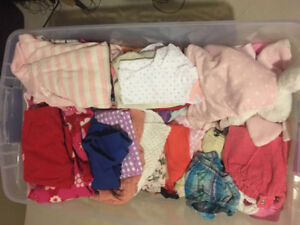 Baby girl clothing 0 to 6 months