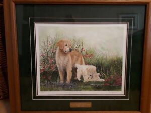 K. Hagerman Limited Edition 'Everything Gold Is New Again' Dogs