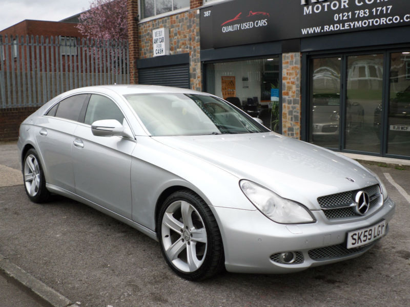 2009 Mercedes-Benz CLS320 3.0CDi 7G-Tronic 320 4DR 59REG Diesel Silver