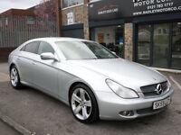 2009 Mercedes-Benz CLS320 3.0CDi 7G-Tronic 320 4DR 59REG Diesel Silver
