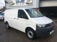 2012 12 VOLKSWAGEN TRANSPORTER 2.0 T28 TDI BLUEMOTION TWIN SIDE DOOR AIR CON CRU