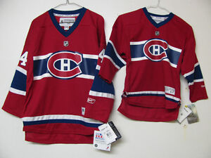 MONTREAL CANADIENS YOUTH HOCKEY JERSEYS SUBBAN INF.4-7 S/M L/X