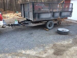 12x8 tandem dump trailer Kawartha Lakes Peterborough Area image 1