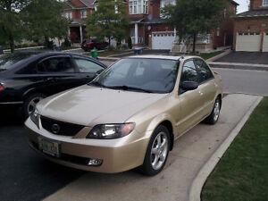 2001 Mazda Protege ES Sedan
