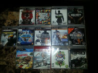 PS3 GAMES - all still like new Adult owner