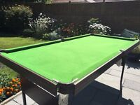 Freestanding Pool Table
