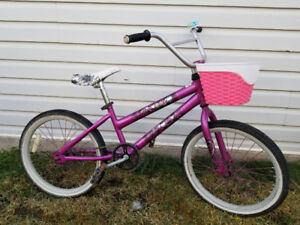 Purple Monster High bike