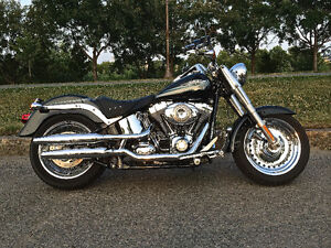 harley davidson FAT BOY 2009 FULL CHROME TOUT ÉQUIPER