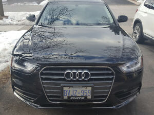 Lease Transfer: 2014 Audi A4 Sedan Black Exterior and Interior