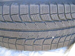 Michelin Latitude X-Ice Winter Tire on Rims - set of four