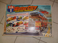 vintage tyco motor city electric toy .. model #3209