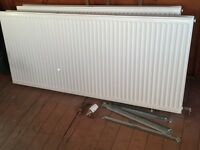 3 X Radiators for sale (2 large & 1 small)