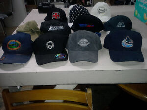 Cap Collection... include Van. Canucks and S. Africa World Cup