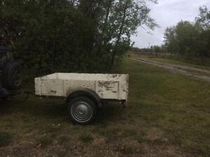 Home built utility trailer
