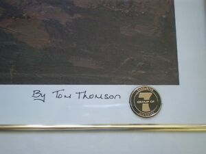 "Tom Thomson "" Petewawa Gorges - 1915 "" Limited Edition Print Kitchener / Waterloo Kitchener Area image 6"