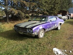 1972 Buick Skylark with a rebuilt 455 big block
