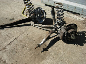 1996 F250 2WD Front Suspension - IBeams, Spindles, Radius Arms