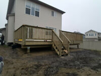 Spring has arrived! Book you new deck or fence today!